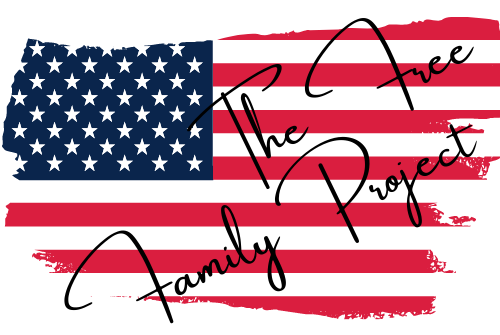 The Free Family Project Logo flag